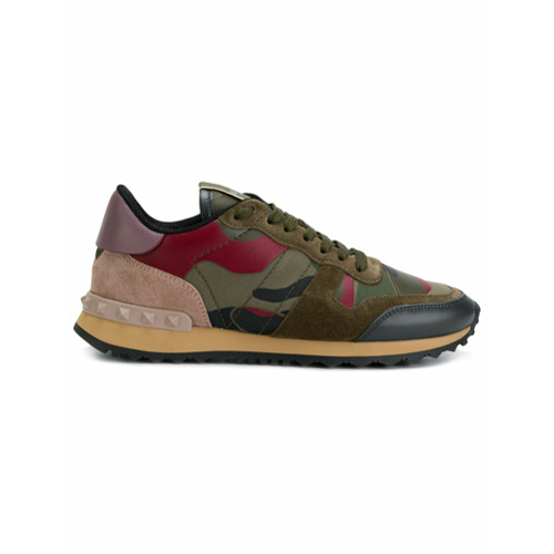 Imagen principal de producto de Valentino zapatillas Camouflage Valentino Garavani - Verde - Valentino