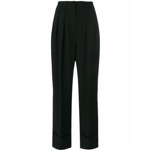 Imagen principal de producto de Sara Battaglia pleated wide leg trousers - Negro - Sara Battaglia