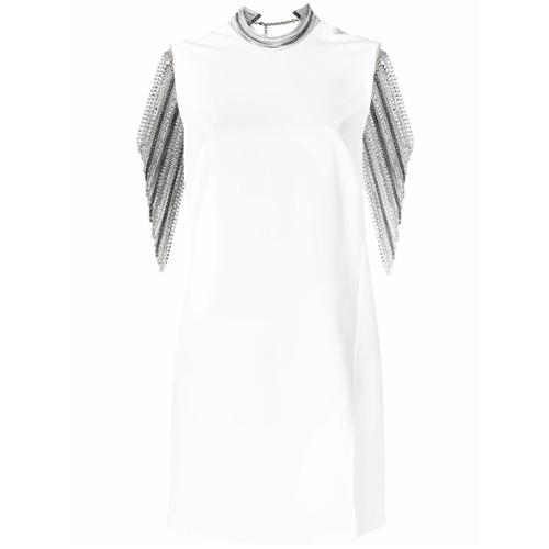 Imagen principal de producto de Versace vestido con cuentas - Blanco - Versace