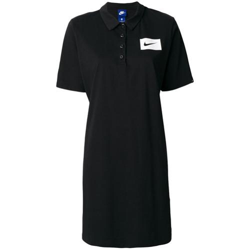 Imagen principal de producto de Nike vestido tipo polo - Negro - Nike