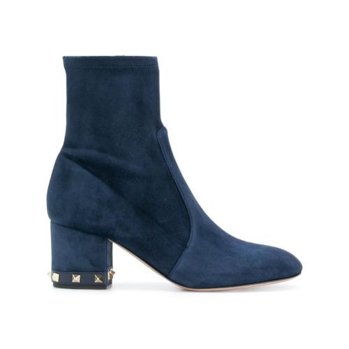 Imagen principal de producto de Valentino botines Rockstud Valentino Garavani - Azul - Valentino