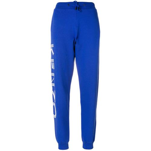 Imagen principal de producto de Kenzo pantalones de chándal con estampado del logo - Azul - Kenzo