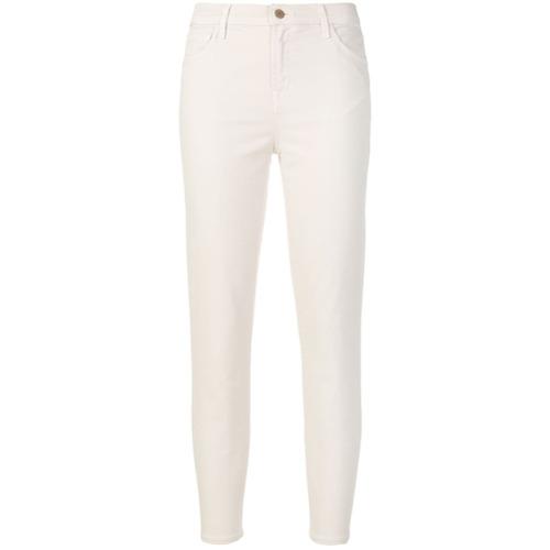 Imagen principal de producto de J Brand cropped trousers - Blanco - J Brand