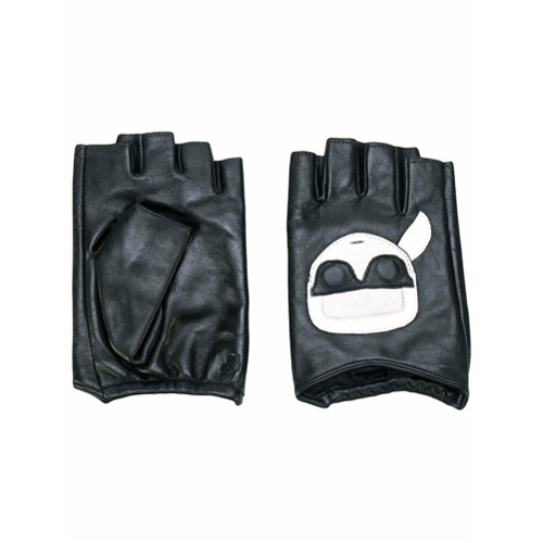 Imagen principal de producto de Karl Lagerfeld guantes Karl Ikonik - Negro - KARL LAGERFELD