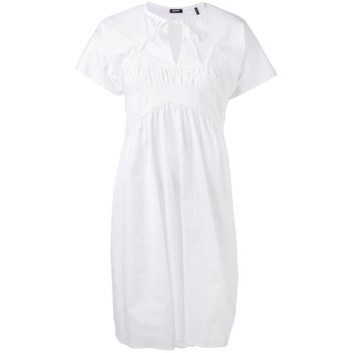 Imagen principal de producto de Jil Sander Navy vestido Popeline - Blanco - Jil Sander Navy