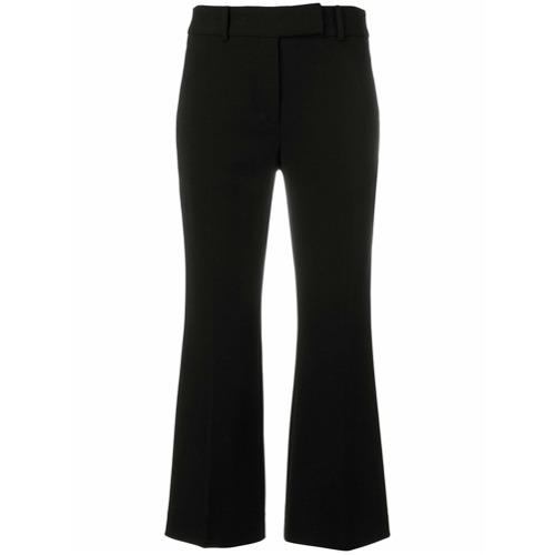 Imagen principal de producto de Michael Michael Kors pantalones acampanados de estilo capri - Negro - MICHAEL Michael Kors