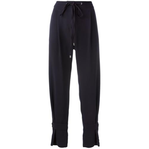 Imagen principal de producto de Jil Sander Navy pantalones con cierre con cordón - Azul - Jil Sander Navy
