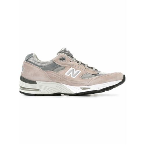 Imagen principal de producto de New Balance zapatillas de paneles - Gris - New Balance