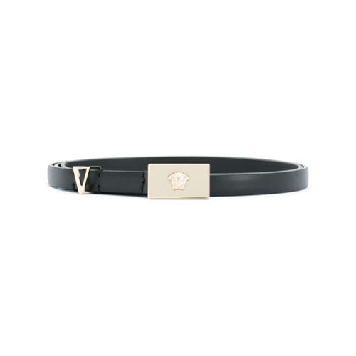 Imagen principal de producto de Versace cinturón Medusa con hebilla - Negro - Versace