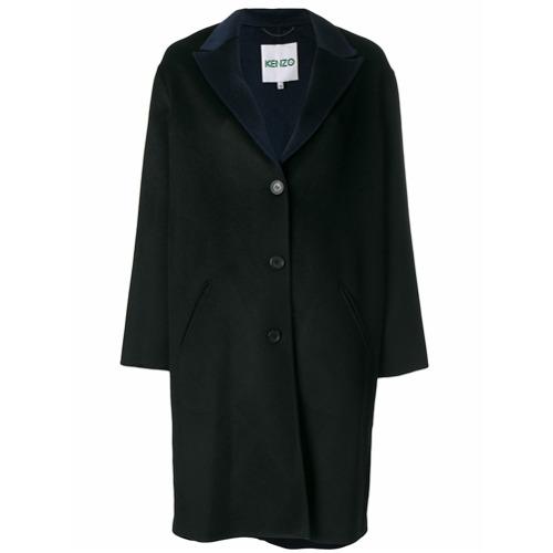 Imagen principal de producto de Kenzo abrigo recto - Negro - Kenzo