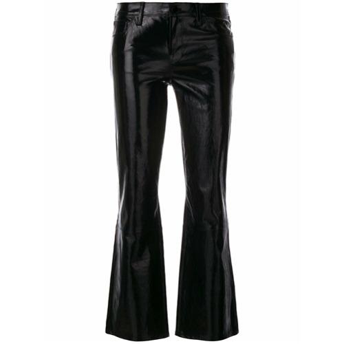 Imagen principal de producto de J Brand vaqueros de cuero estilo bootcut Selena - Negro - J Brand