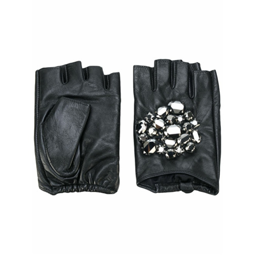 Imagen secundaria de producto de Karl Lagerfeld guantes Geo Stone - Negro - KARL LAGERFELD