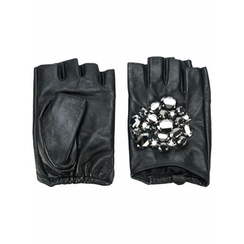 Imagen principal de producto de Karl Lagerfeld guantes Geo Stone - Negro - KARL LAGERFELD