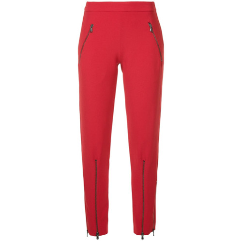 Imagen principal de producto de Moschino pantalones de chándal de corte slim - Rojo - Moschino