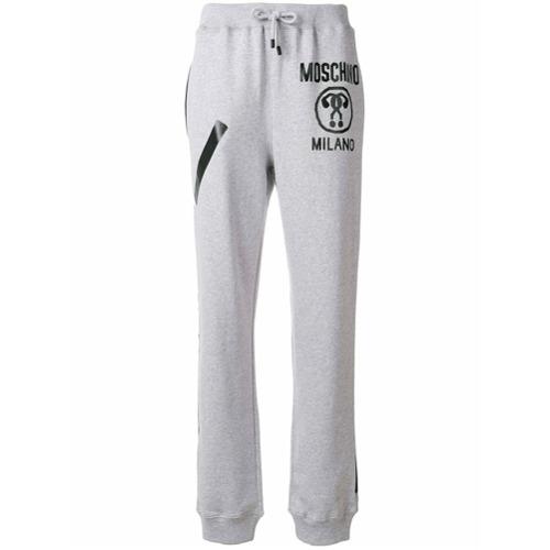 Imagen principal de producto de Moschino pantalones deportivos - Gris - Moschino