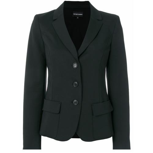 Imagen principal de producto de Emporio Armani blazer entallado - Negro - Emporio Armani