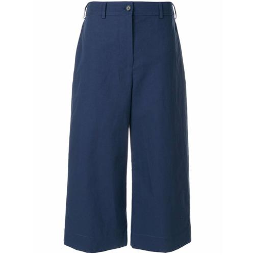 Imagen principal de producto de Kenzo pantalones anchos estilo capri - Azul - Kenzo
