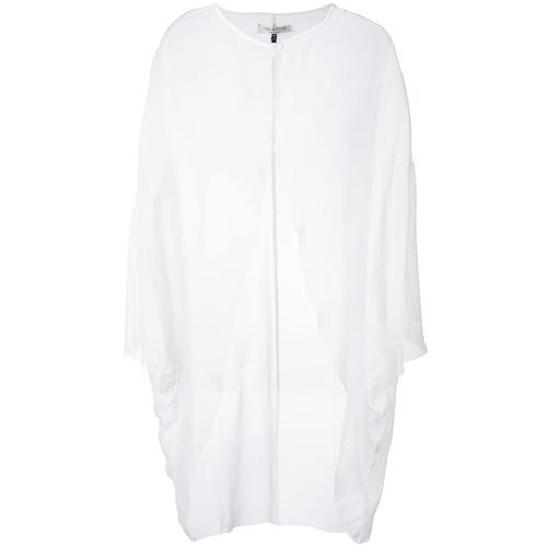 Imagen principal de producto de Halston Heritage chaqueta de noche transparente - Blanco - Halston Heritage