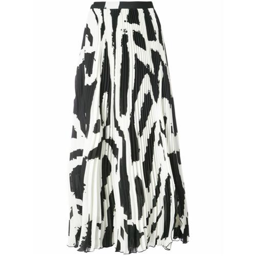 Imagen principal de producto de Proenza Schouler falda larga plisada - Blanco - Proenza Schouler