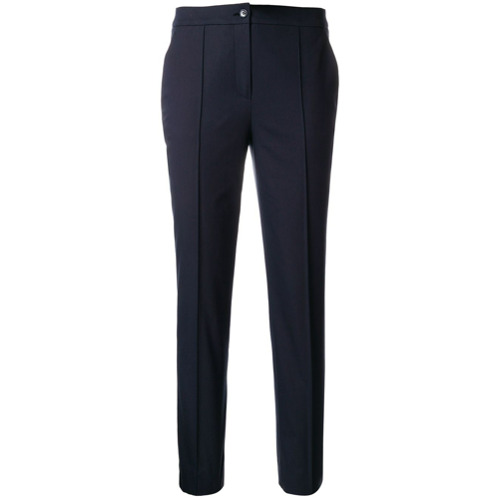 Imagen principal de producto de Jil Sander Navy pantalones capri de pinzas - Azul - Jil Sander Navy