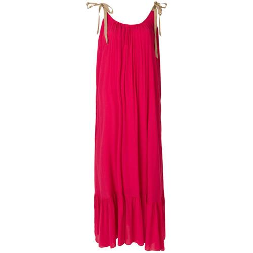 Imagen principal de producto de Roberto Collina vestido largo acampanado - Rojo - Roberto Collina