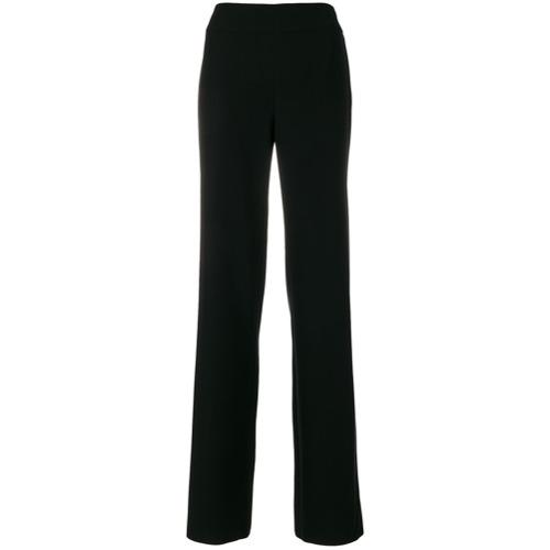 Imagen principal de producto de Emporio Armani pantalones de pinza con talle alto - Negro - Emporio Armani