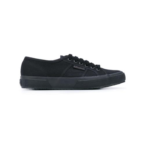 Imagen principal de producto de Superga zapatillas clásicas con cordones - Negro - Superga