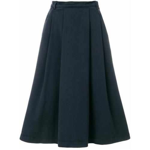 Imagen principal de producto de YMC falda con diseño midi - Azul - YMC