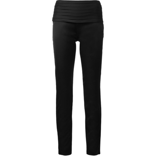 Imagen principal de producto de Moschino pantalones slim - Negro - Moschino