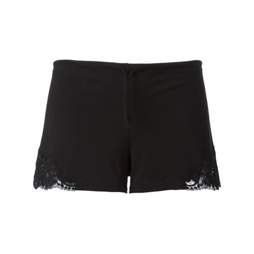 Imagen principal de producto de La Perla shorts con encaje - Negro - La Perla