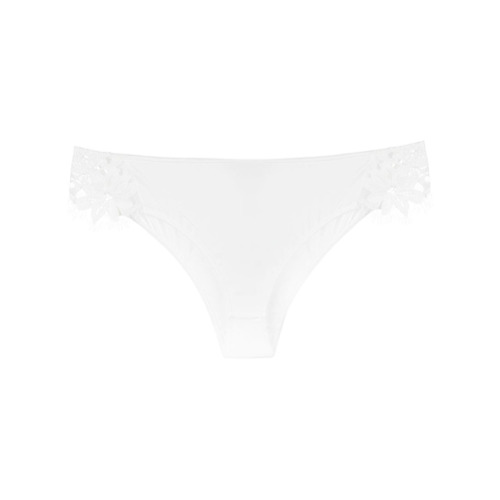 Imagen principal de producto de For Love And Lemons bragas con encaje - Blanco - For Love And Lemons