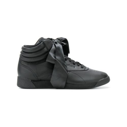 Imagen principal de producto de Reebok zapatillas Freestyle Hi Satin Bow - Negro - Reebok