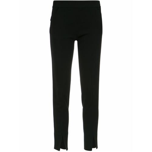 Imagen principal de producto de Emporio Armani fitted trousers - Negro - Emporio Armani