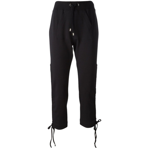 Imagen principal de producto de Moschino pantalones de chándal con cordones - Negro - Moschino