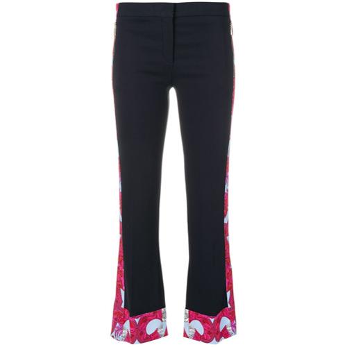 Imagen principal de producto de Versace pantalones con ribetes Barocco Instante - Azul - Versace