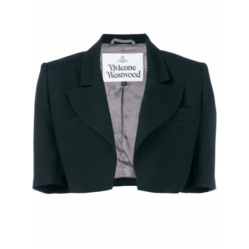 Imagen principal de producto de Vivienne Westwood chaqueta corta entallada - Negro - Vivienne Westwood