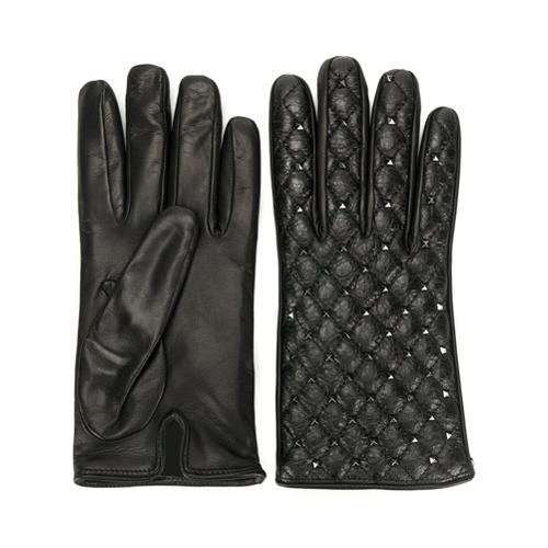 Imagen principal de producto de Valentino guantes Rockstud Valentino Garavani - Negro - Valentino