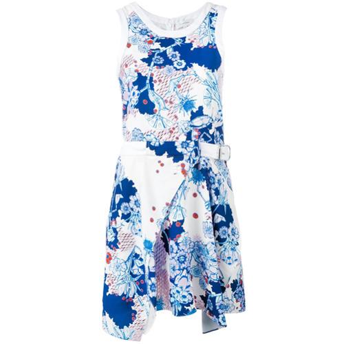 Imagen principal de producto de Carven vestido con estampado floral - Blanco - Carven