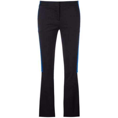 Imagen principal de producto de Versace pantalones acampanados con aplique de rayas - Negro - Versace