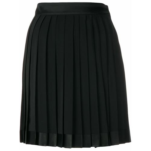 Imagen principal de producto de Versace falda corta plisada - Negro - Versace