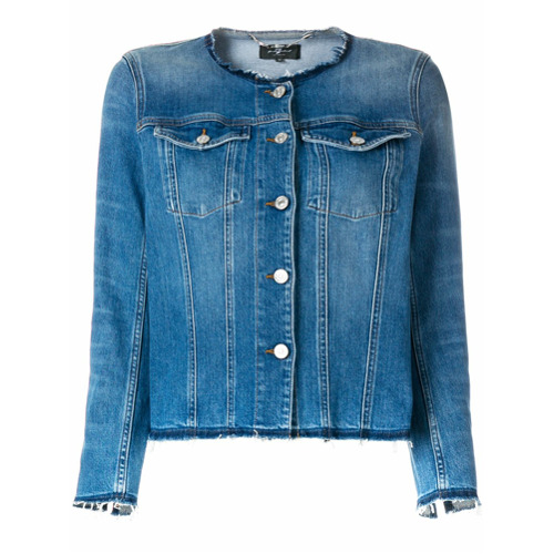 Imagen principal de producto de 7 For All Mankind chaqueta vaquera - Azul - 7 for all mankind