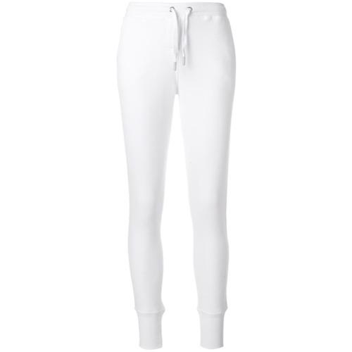 Imagen principal de producto de Zoe Karssen pantalones joggers stretch con logo - Blanco - Zoe Karssen