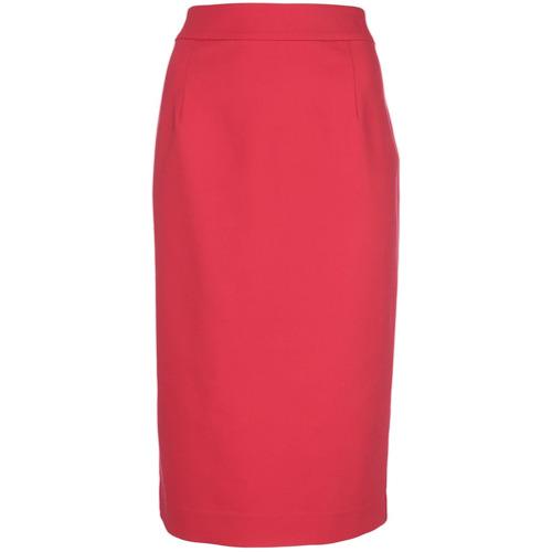 Imagen principal de producto de Emporio Armani falda de tubo a media pierna - Rojo - Emporio Armani