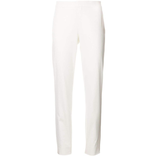 Imagen principal de producto de Moschino pantalones capri de talle alto - Blanco - Moschino