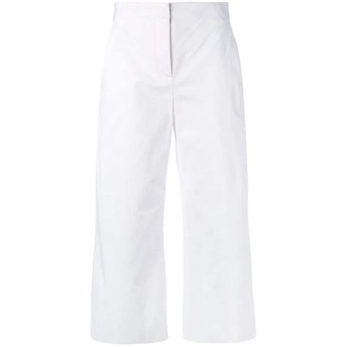 Imagen principal de producto de Versace pantalones de corte capri - Blanco - Versace