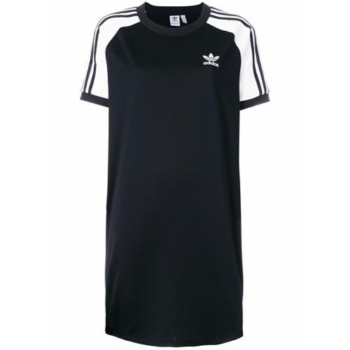 Imagen principal de producto de Adidas vestido de raglán con tres rayas Adidas Originals - Negro - Adidas