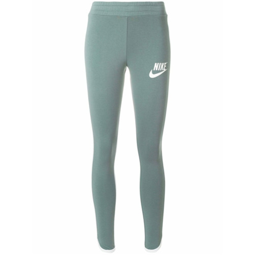 Imagen principal de producto de Nike printed logo leggings - Verde - Nike