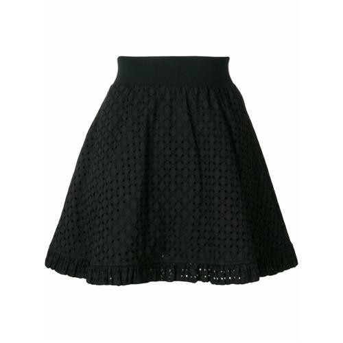 Imagen principal de producto de Love Moschino falda mini acampanada - Negro - Moschino