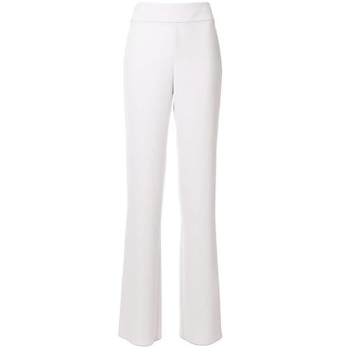 Imagen principal de producto de Emporio Armani pantalones anchos con talle alto - Gris - Emporio Armani