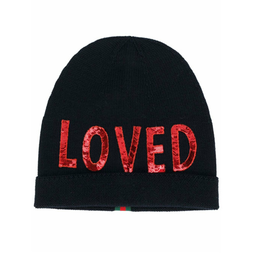 Gucci gorro Loved - Azul
